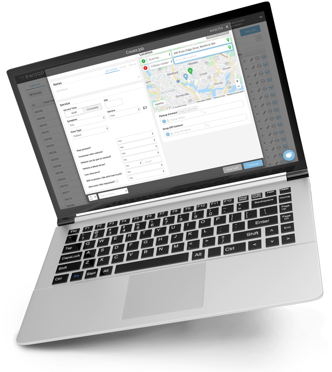 Swoop Dispatch Management Platform for Service Providers - Agero