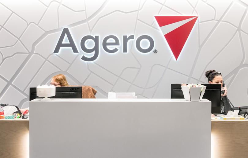 Agero Corporate Headquarters Medford, MA - Debbie & Fran