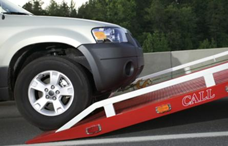 vehicle tow flatbed